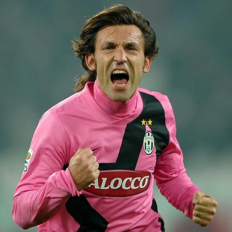 Pirlo's Juventus Match-Issued Shirt, 2011/12