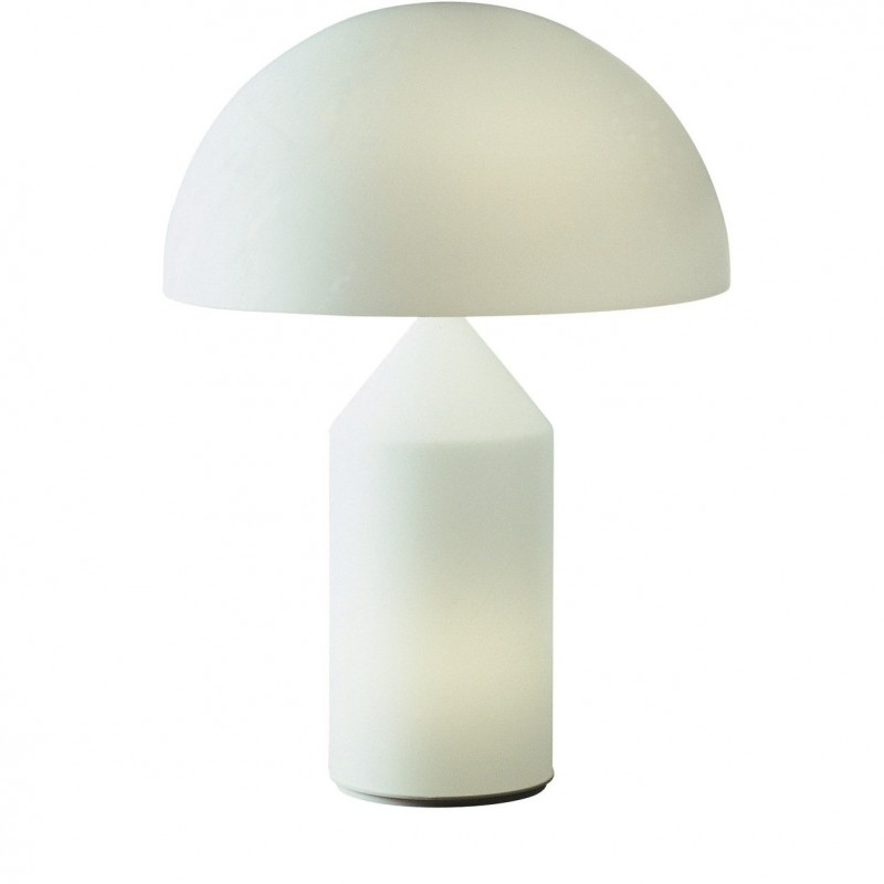 Glass Atollo Lamp by Oluce