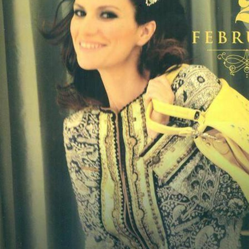Laura Pausini worn Jacket, Official Calendar 2015