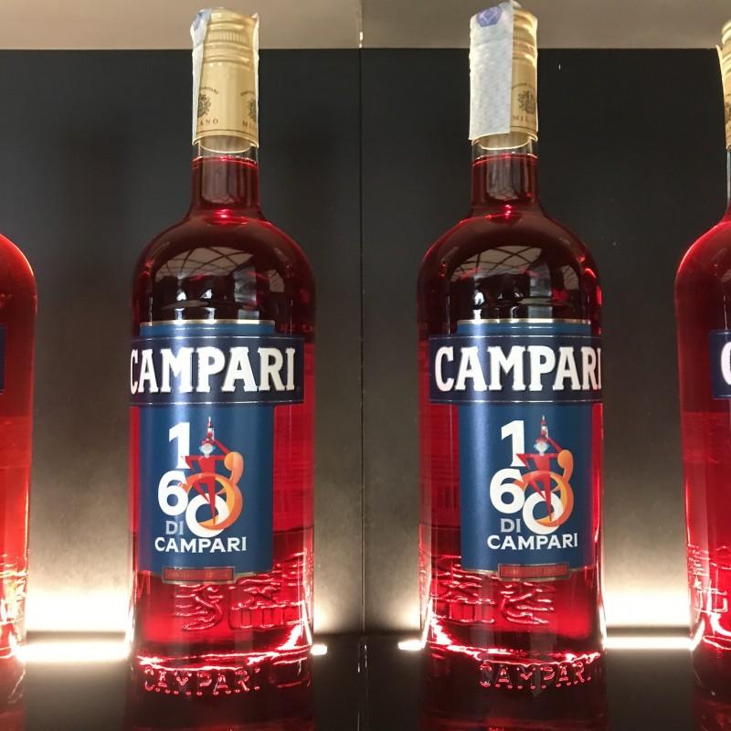 Bottle of Campari Designed by Francesco Poroli