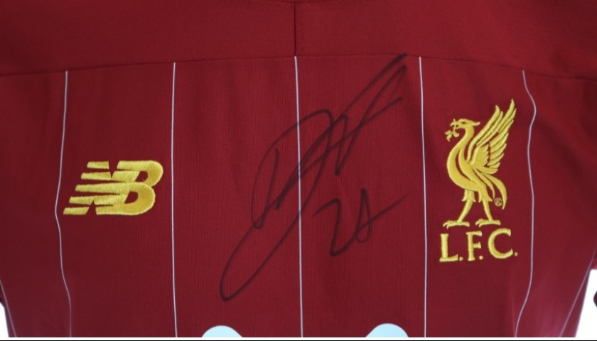 Origi's Issued and Signed Limited Edition 19/20 Liverpool FC Shirt
