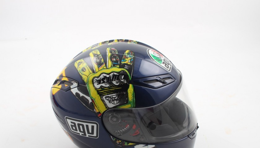 3d6c2dc2bb2 Limited Edition Valentino Rossi signed helmet - n.1551 of 2000 ...