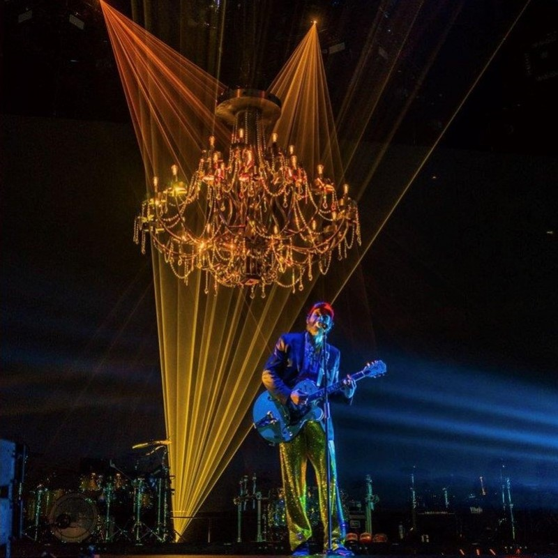 "Prop Chandelier from Jovanotti's ""Lorenzo Live 2018"" Tour"