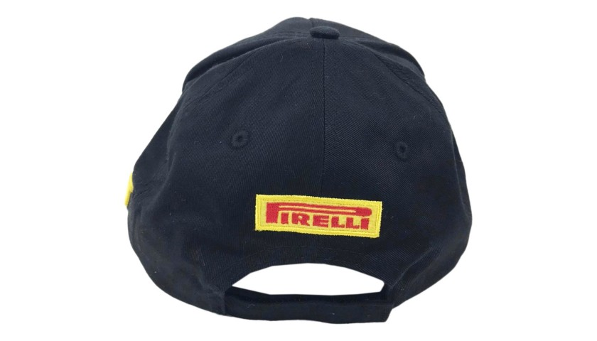 Pirelli Podium Cap Signed by Jacques Villeneuve