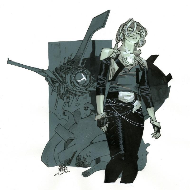 """""""Il Muro: Jen & Cerberus"""" by Mario Alberti"""