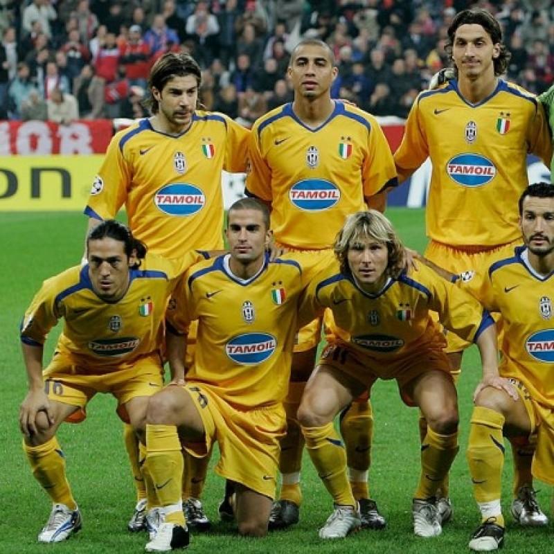 Pessotto's Juventus Match Shirt, TIM Cup 2005/06