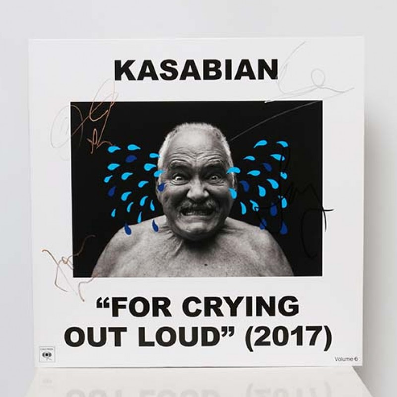 Kasabian Signed 'For Crying Out Loud' Vinyl