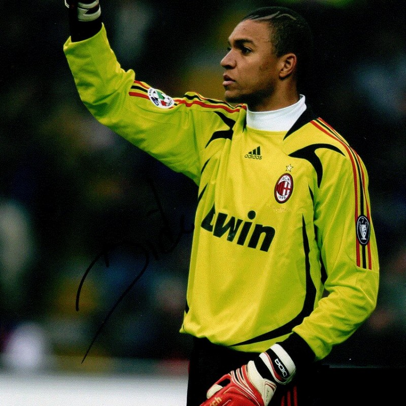 31fbbd0a0 Dida s Worn and Signed Gloves