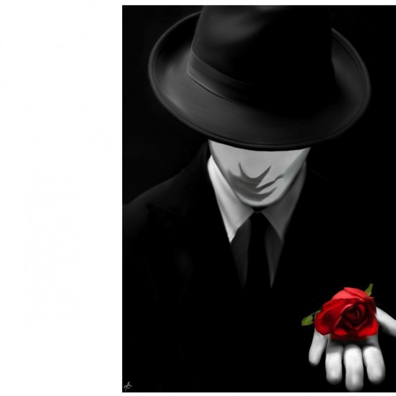 """""""The phantom of Love"""" -  print on photographic paper by Y. Pizzetti - 30x40 cm"""