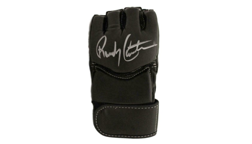 Randy Couture Hand Signed UFC Glove