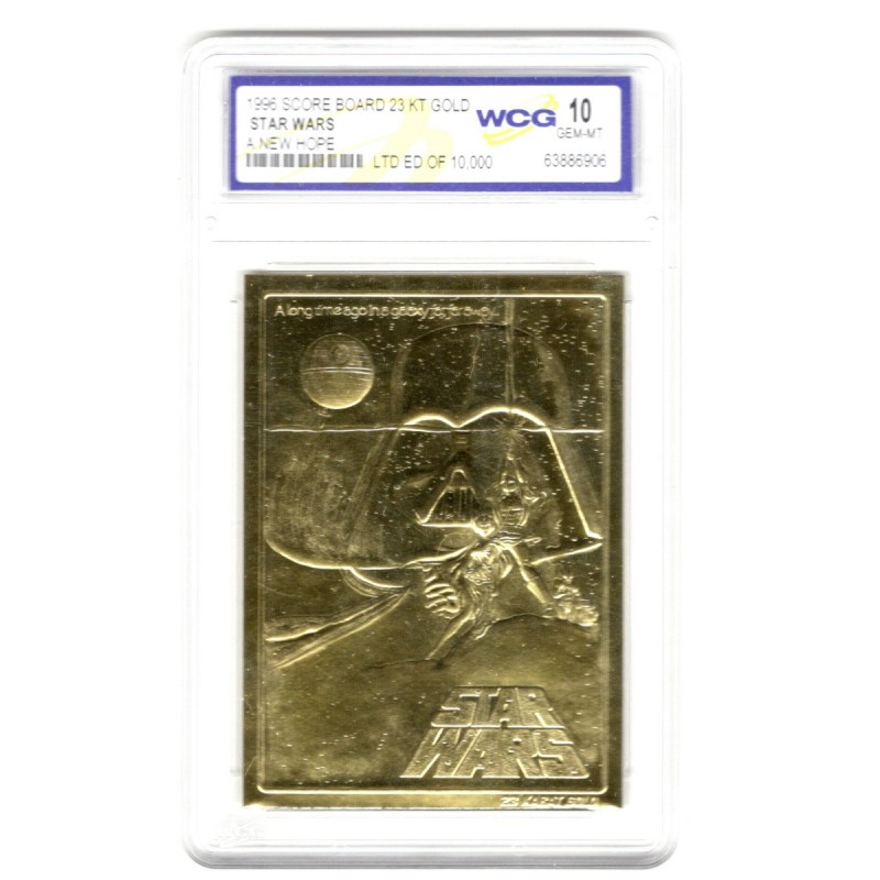 Star Wars Limited Edition Gold Card - A New Hope