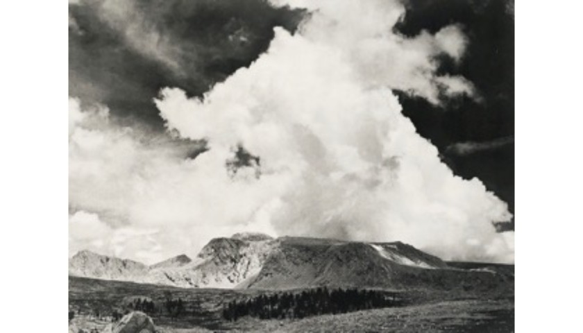 """Diamond Mesa"" by Ansel Adams"