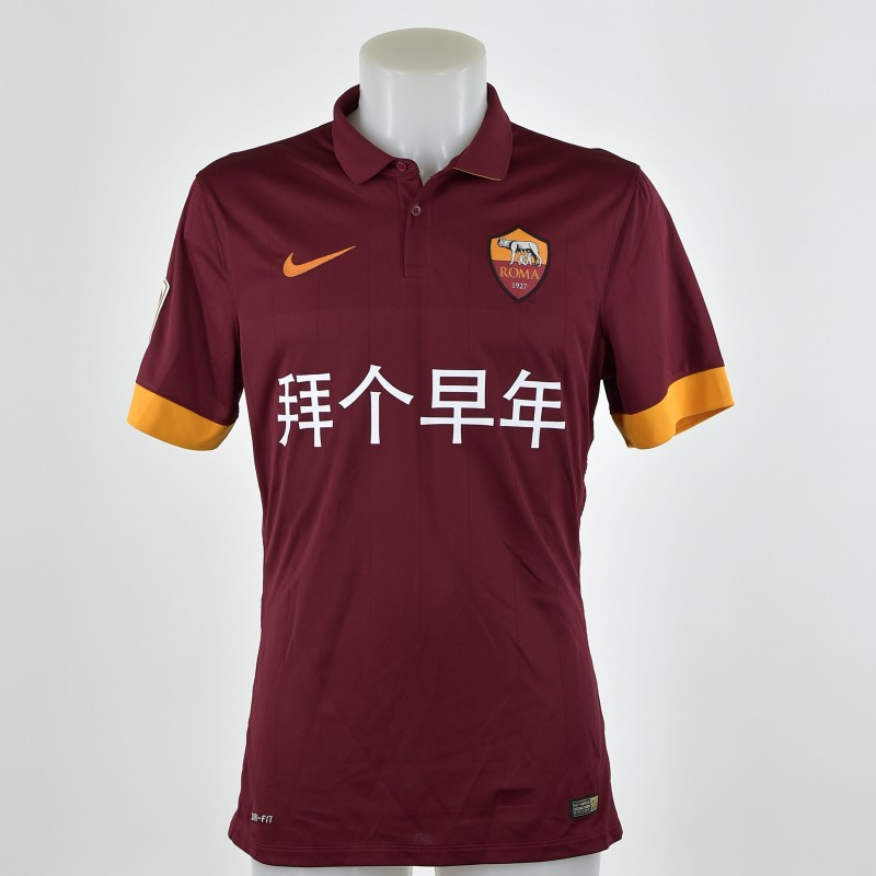 Special Chinese New Year Keita matchworn AS Roma shirt