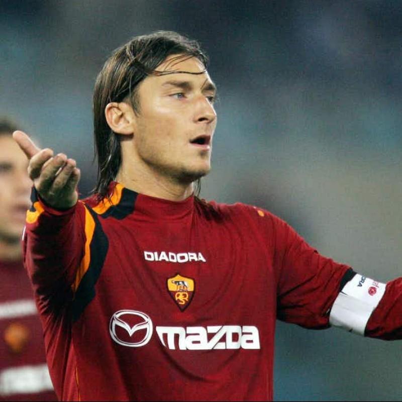 Totti's Roma Signed Match Armband, 2003/04