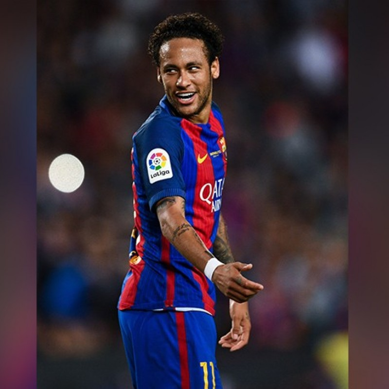 Neymar's Match Shirt, Barcelona-Eibar - #Wembley25