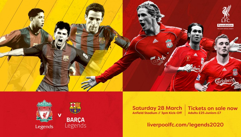 Meet & Greet with Luis Garcia at Liverpool Legends Match + Hospitality