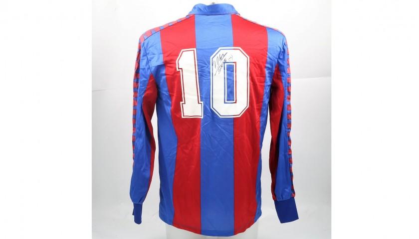 Maradona's Signed Match-Worn Barcelona Shirt, 1983