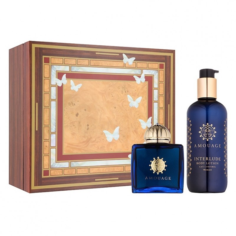 Interlude Woman EDP Amouage 100ml Fragrance and 300ml Body Lotion