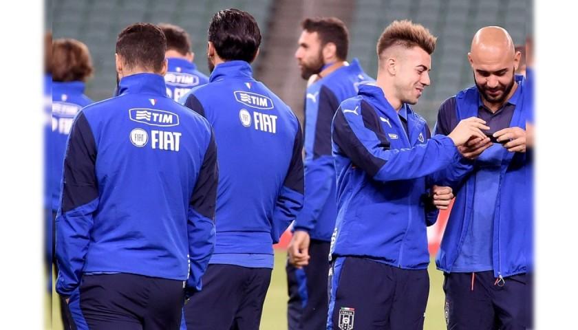 Italy Football Training Sweatshirt, 2015