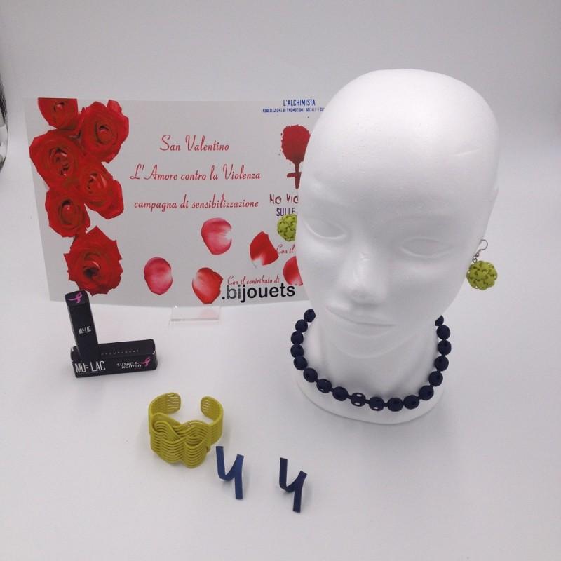 .bijouets Jewelry Set and Mulac Lipstick