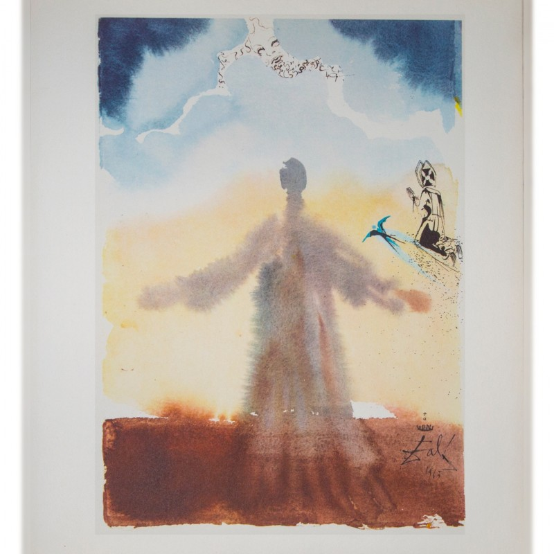 Salvador Dalì Original Lithograph, 1966 - Pater Noster