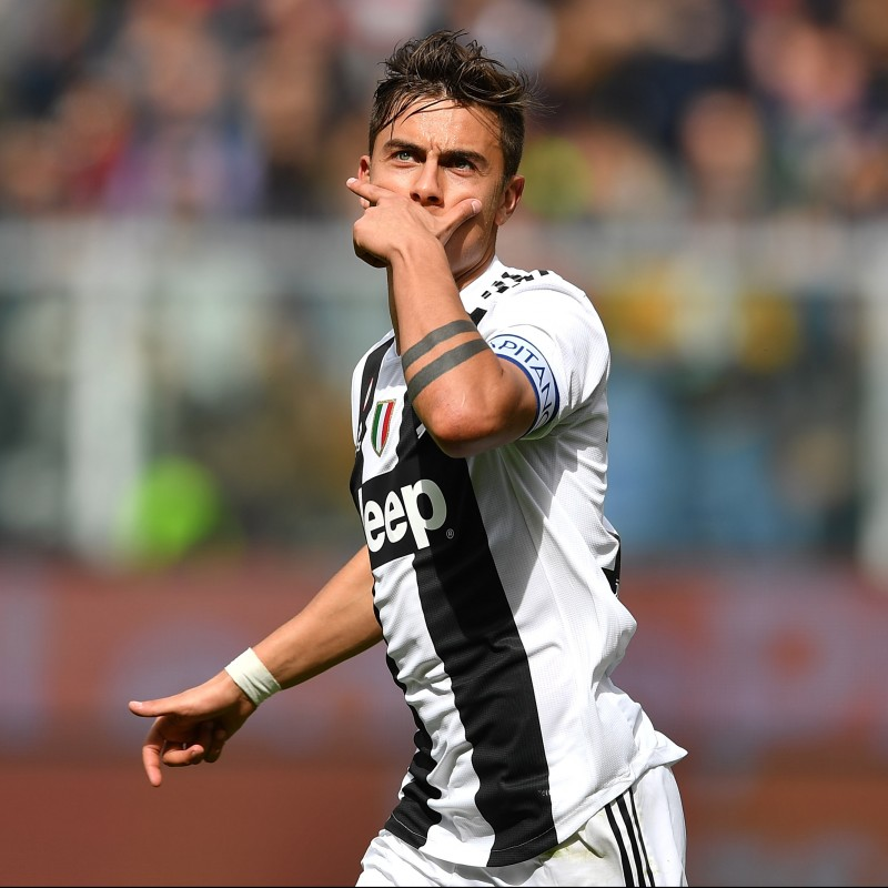 Dybala's Authentic Juventus Signed Shirt, 2018/19