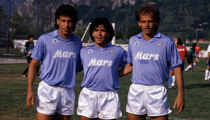 Maradona's Match-Issued/Worn Napoli Shirt, 1988/89