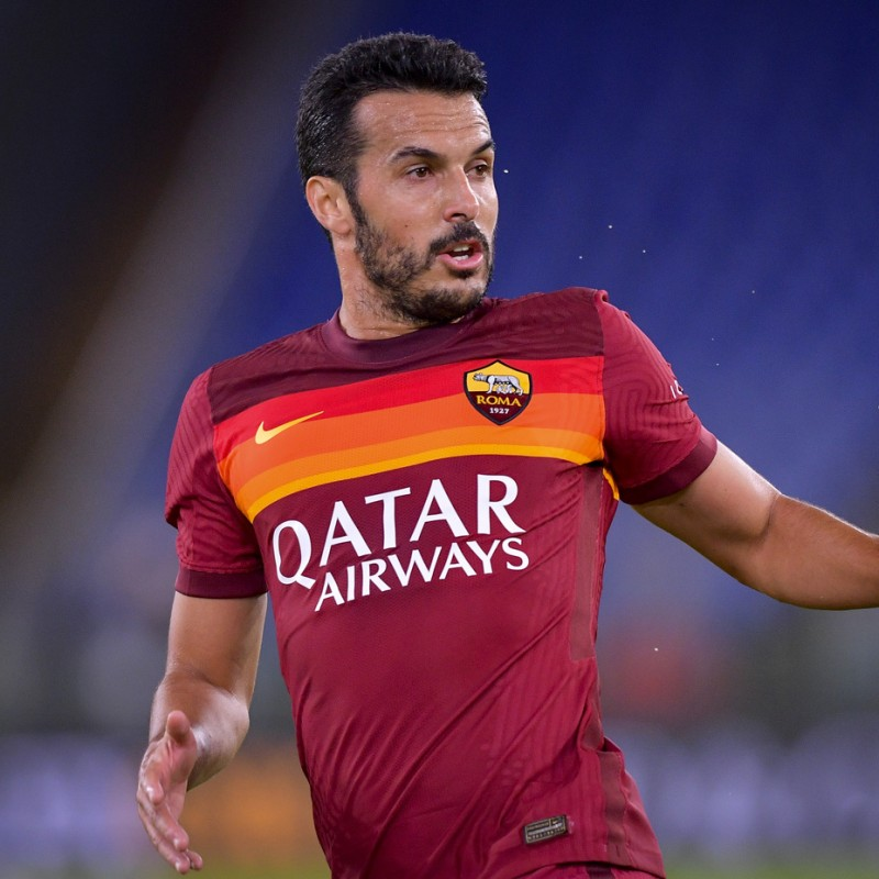 Pedro's Official Roma Signed Shirt, 2020/21