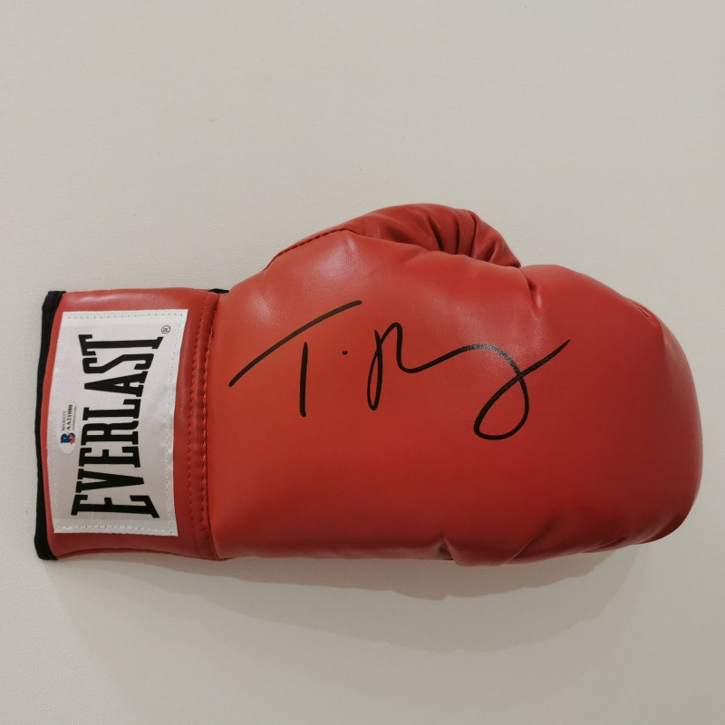 Boxing Glove Signed by Tyson Fury