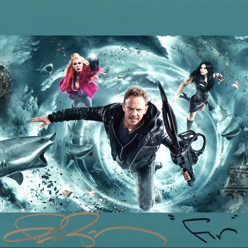 Ian Ziering Signed Photograph