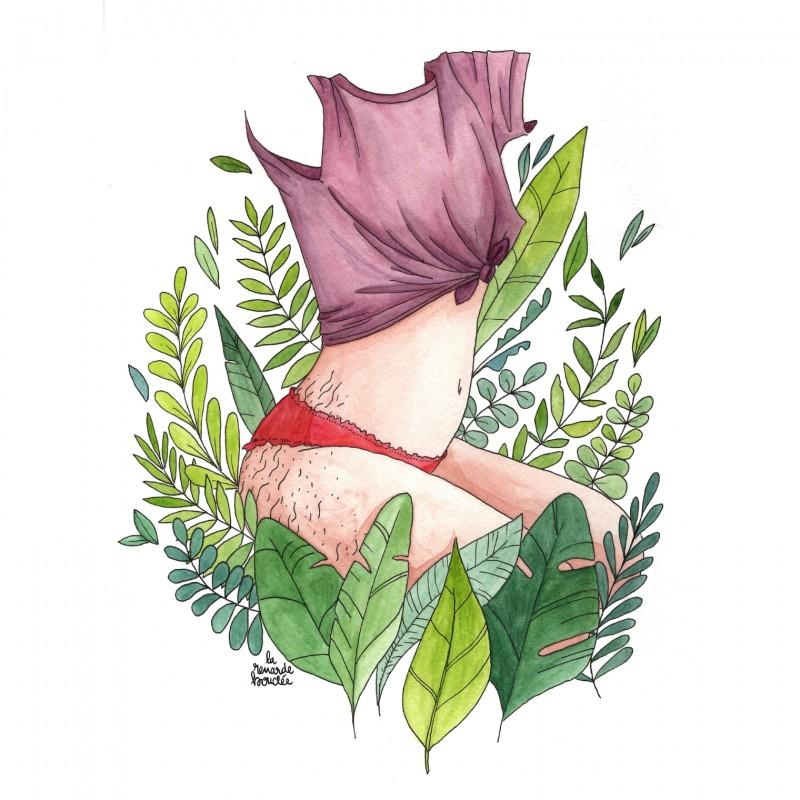 """""""Vénus de la Jungle"""" by Théa Lime"""