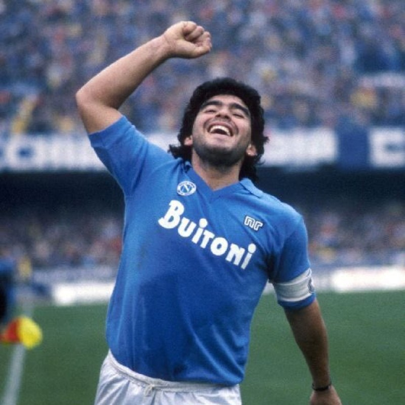 Maradona's Napoli Match Shirt, 1986/87