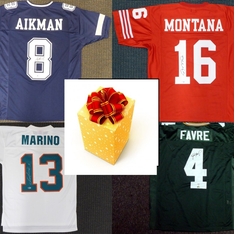 Quarterback Legends Mystery Box: Hand Signed Jersey