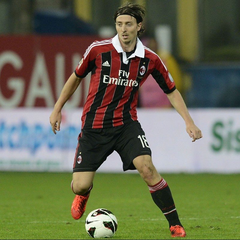 Montolivo's Official Milan Signed Shirt, 2012/13