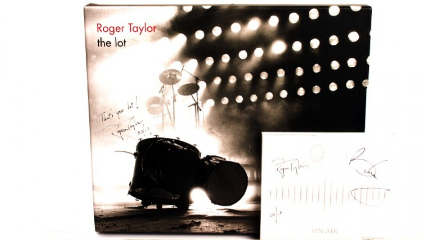 Queen and Roger Taylor Signed Albums