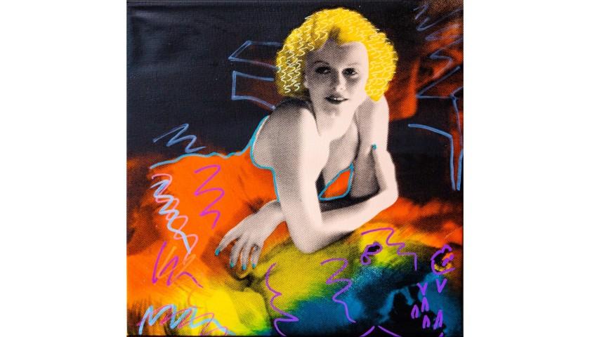 """""""Jean Harlow"""" by Steve Kaufman"""