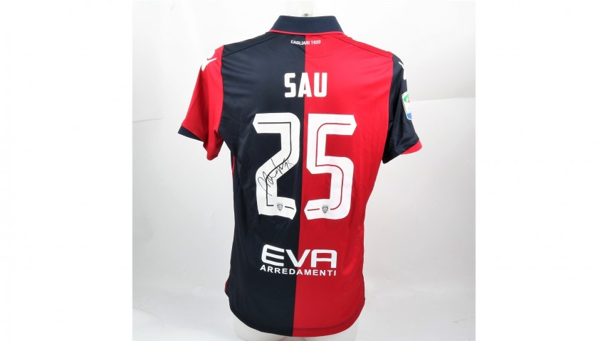 Official Sau 2016/17 Cagliari Shirt, Signed