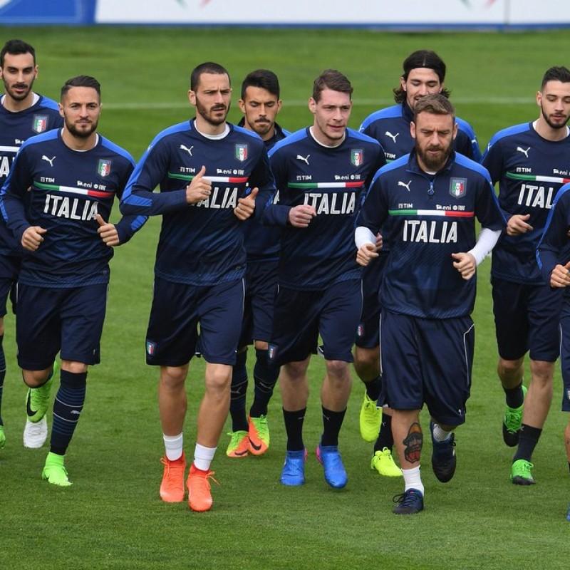 2 Italy Training Shirts, 2017