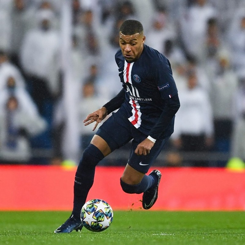 Nike Shin Pads - Signed by Mbappe