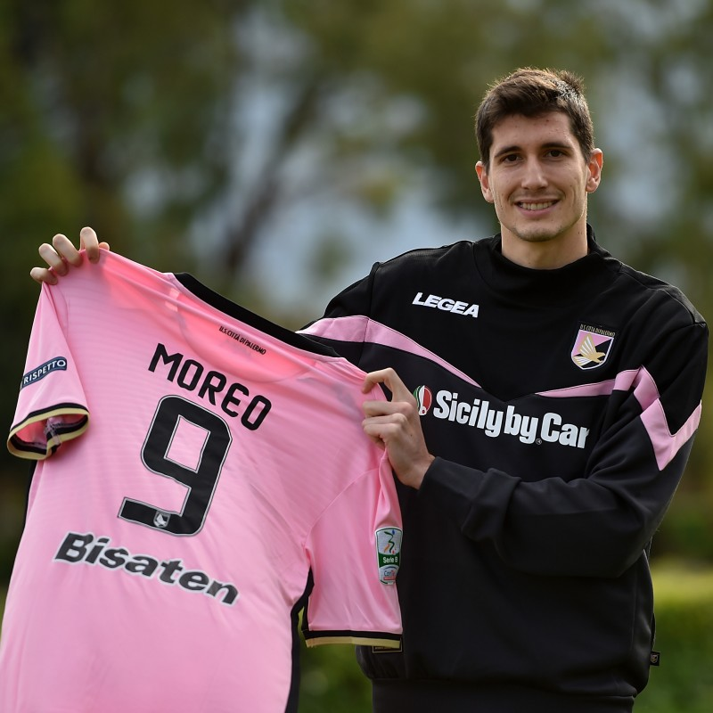 Moreo's Palermo Presentation Shirt, Signed