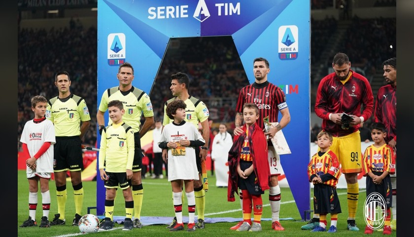 Mascot Experience at the AC Milan-Napoli Match