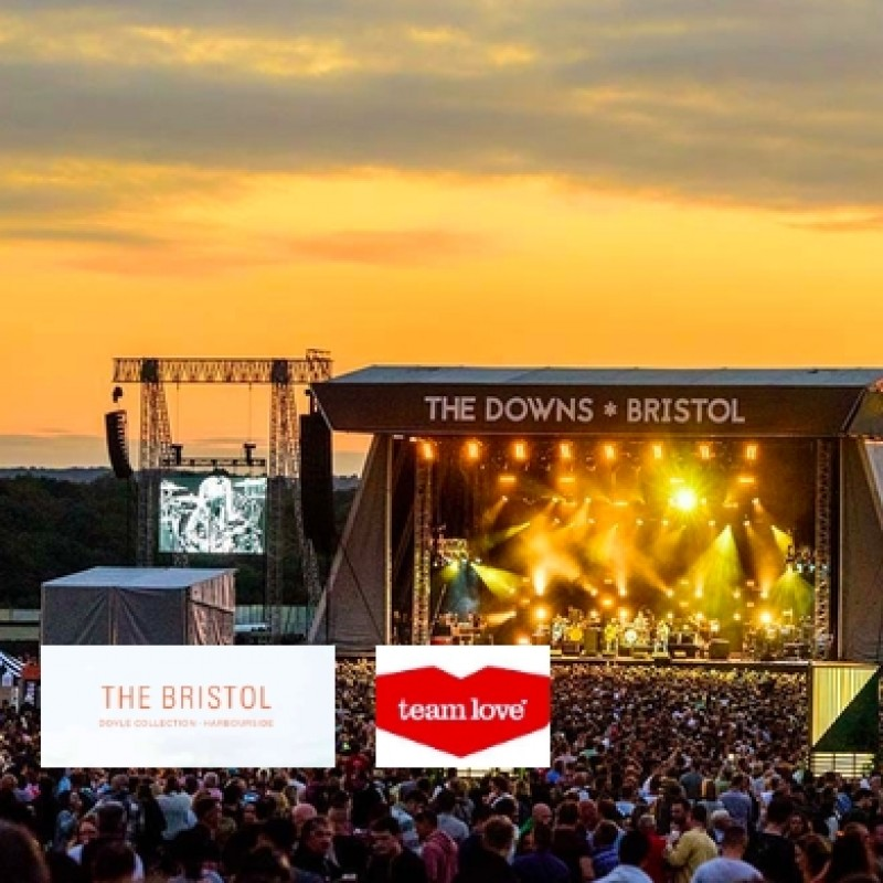Downs Festival Tickets for 2 + 1 Night B&B at the 4* Bristol Hotel