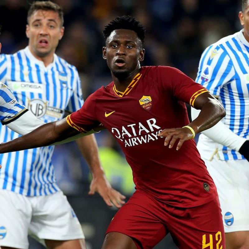 Diawara's Worn and Signed Shirt, Roma-SPAL 2019