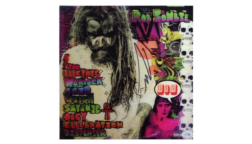 Rob Zombie Hand Signed Rare Album Cover