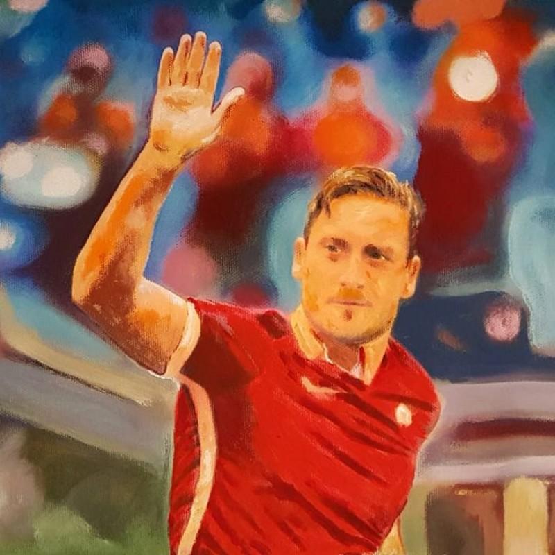 """""""Totti"""" by Antonello Arena"""