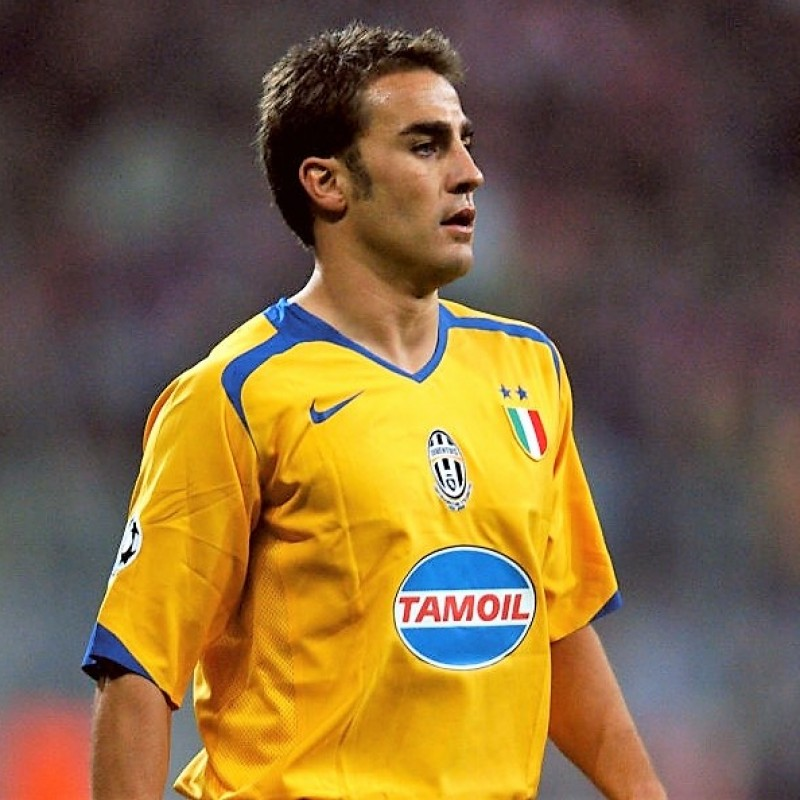 Cannavaro's Juventus Match Shirt, 2005/06