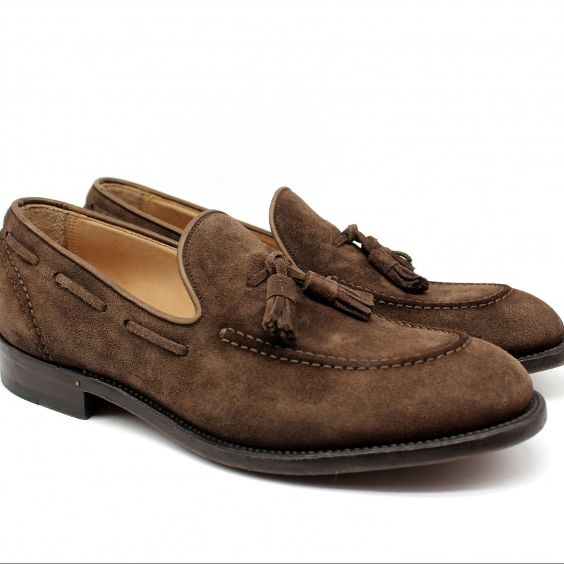 Stratton Suede Loafers by Franco Gentili