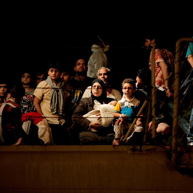 """Migrants"" Photograph by Francesco Malavolta"
