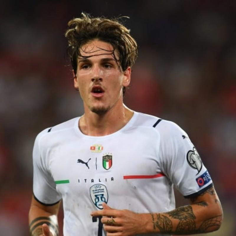Zaniolo's Match Shirt, Switzerland-Italy 2021