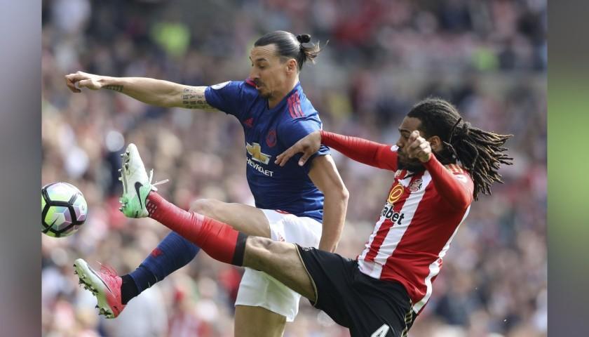 5fc015afe Ibrahimovic s Manchester United Match Shirt